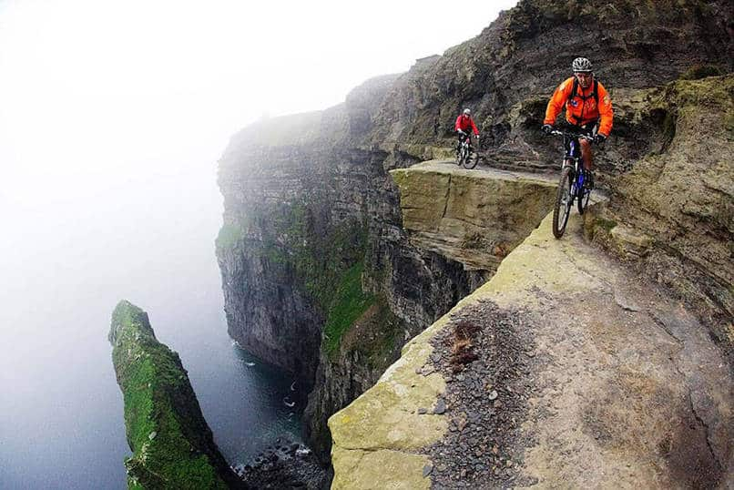 21. This bike trail along the Cliffs of Moher.