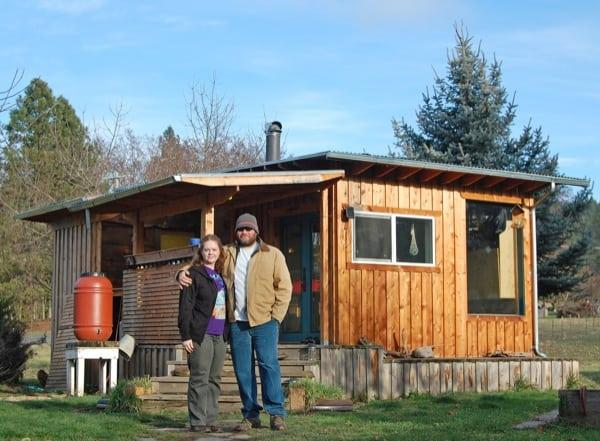 How To Build An Off Grid Solar Powered Mini Cabin From As