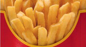 mcdonalds unbranded french fries aotw