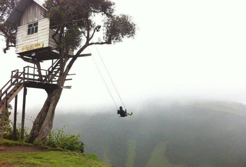 6. Swinging at La Casa Del Arbol