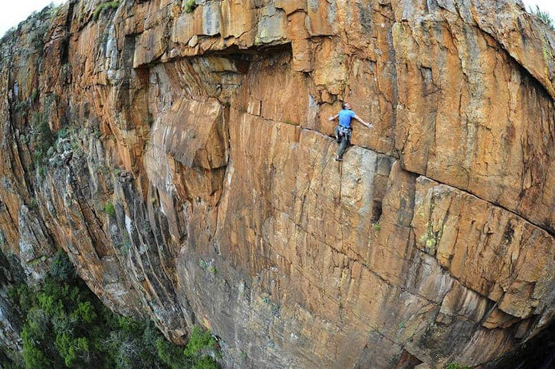 9. John Roberts, climbin' around South Africa