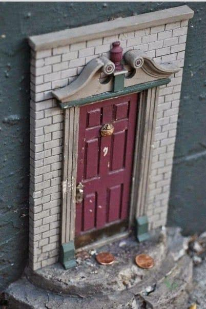 These Secret Tiny Doors Can Be Found All Around This Town. The Reason Why They Built Them Absolutely Brilliant! (9)