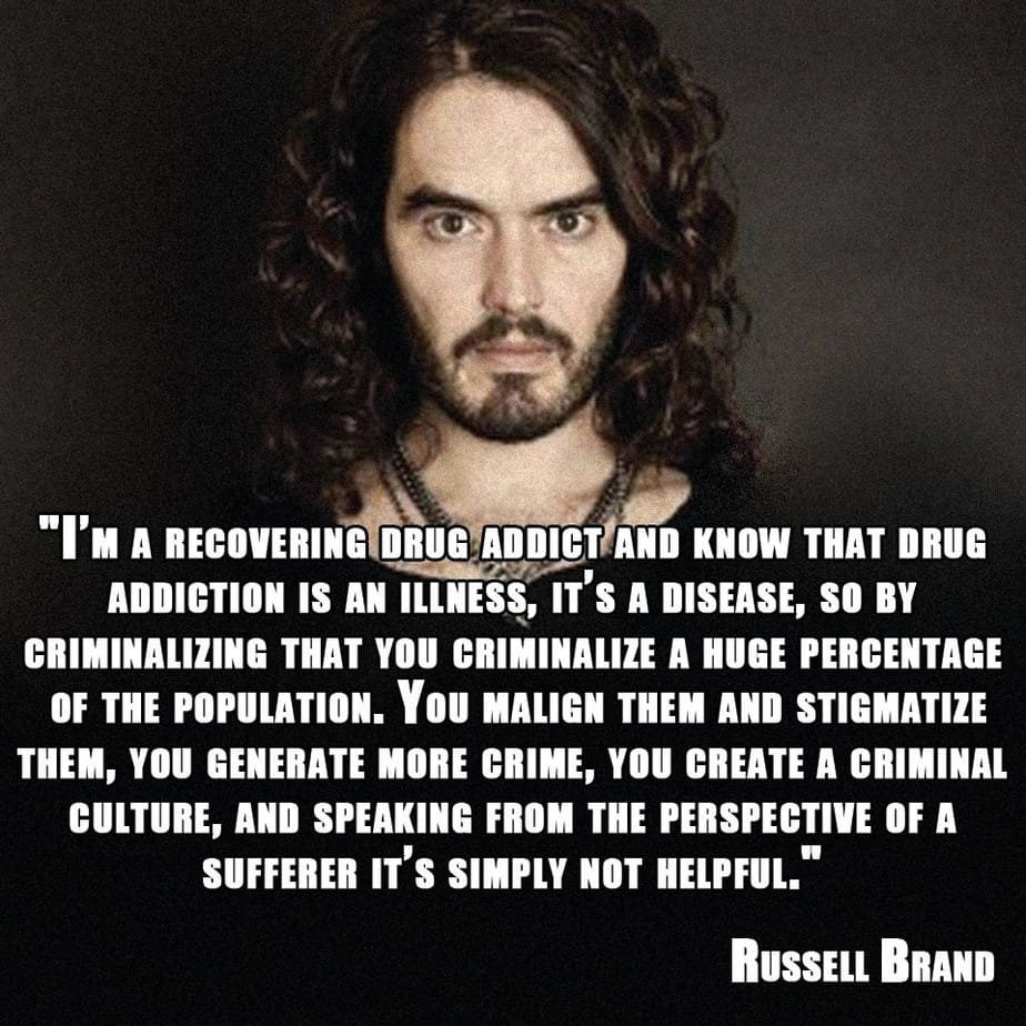Revolution Quotes 18 Of Russell Brand's Most Inspiring & Insightful Quotes