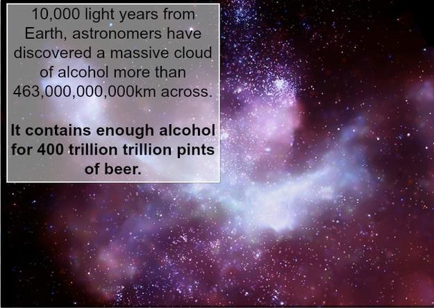 21 of my favourite interesting and uplifting facts about the universe