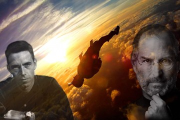 steve jobs + alan watts