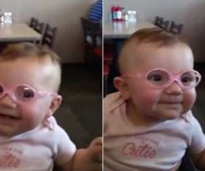 Baby-sees-parents-clearly-for-first-time