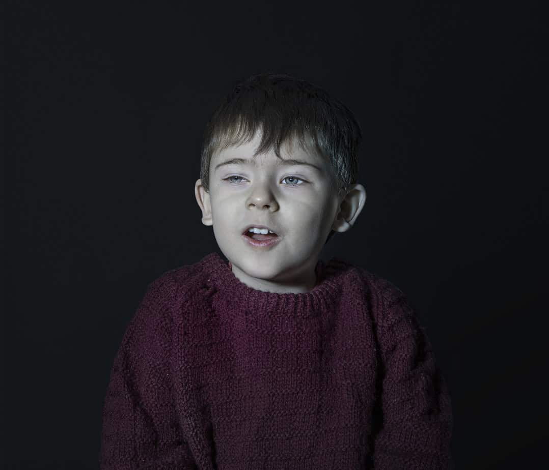 Haunting Images of Children Hypnotized by Television