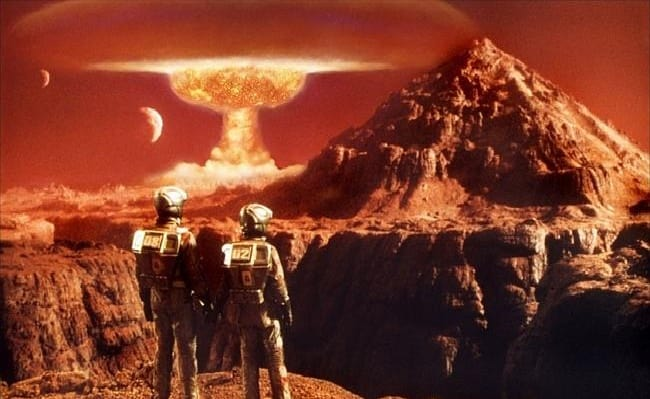 New Findings Suggest Ancient Civilizations On Mars Were Wiped Out By Nuclear War.