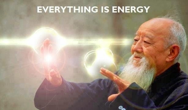 Everything is Pure Energy, Including You. Change It And You Will Change the World.