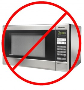 now microwaves allowed
