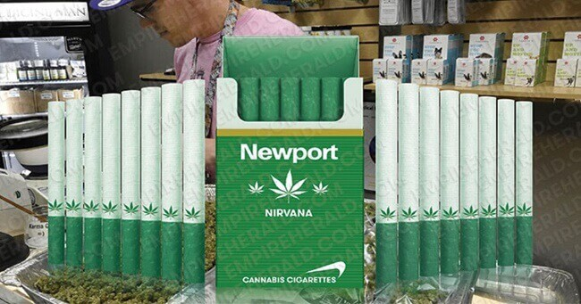 "00""Marijuana Cigarettes"" Will Go On Sale Worldwide In 2017"