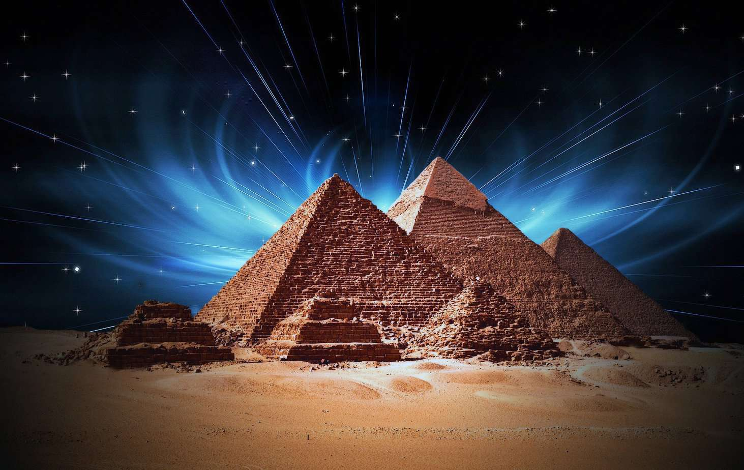 Scientists Discover Great Pyramid Has Ability To Channel