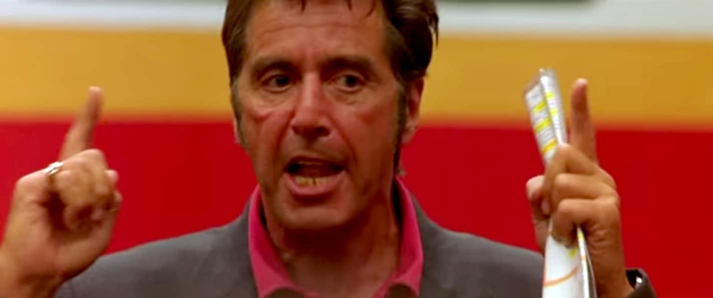 Al Pacino S Motivational Speech On Life From Any Given Sunday