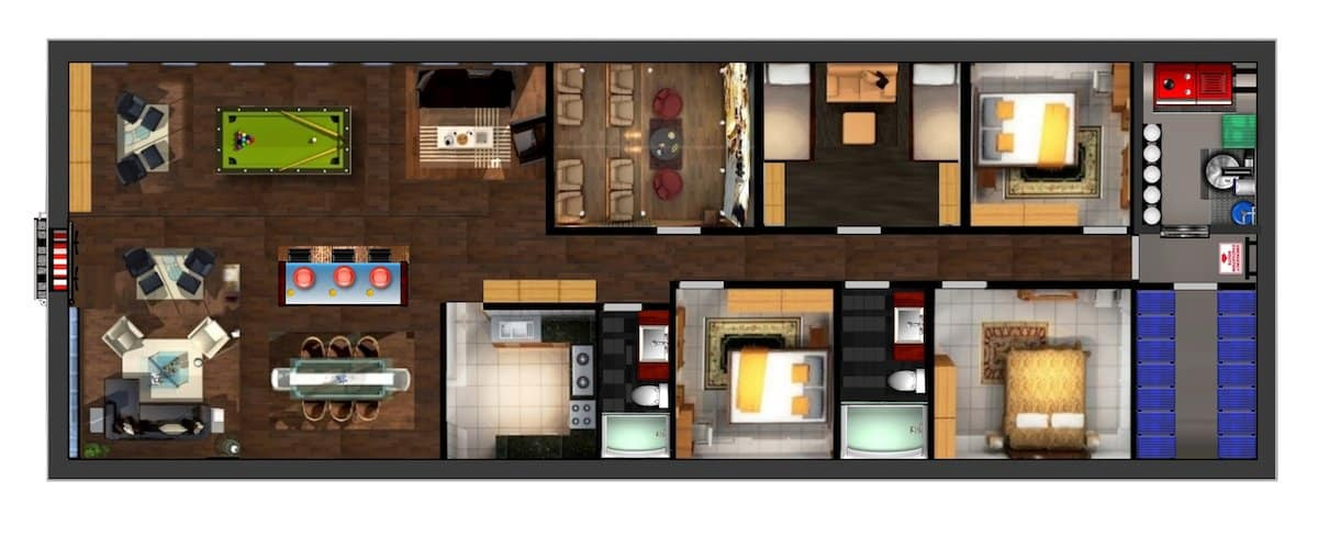 00in-this-rendering-we-see-a-three-bedroom-home-complete-with-a-kitchen-living-room-storage-closet-and-home-theater-the-blast-door-is-not-large-enough-for-a-garage