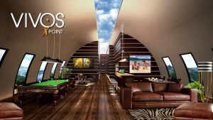 00they fit 10 comfortably though some buyers may opt to turn their bunker into a deluxe suite for immediate family only this rendering shows how led screens might replace windows