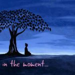 buddha in the moment