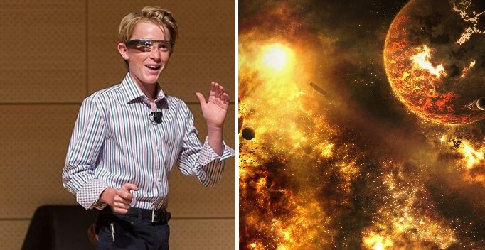 THIS Is The Smartest Kid In The World And He Thinks CERN Destroyed Our Universe…