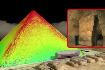"49a68b0d4bbd Breakthrough  Scientists find new evidence of ""several hidden chambers""  inside Great Pyramid of Giza"