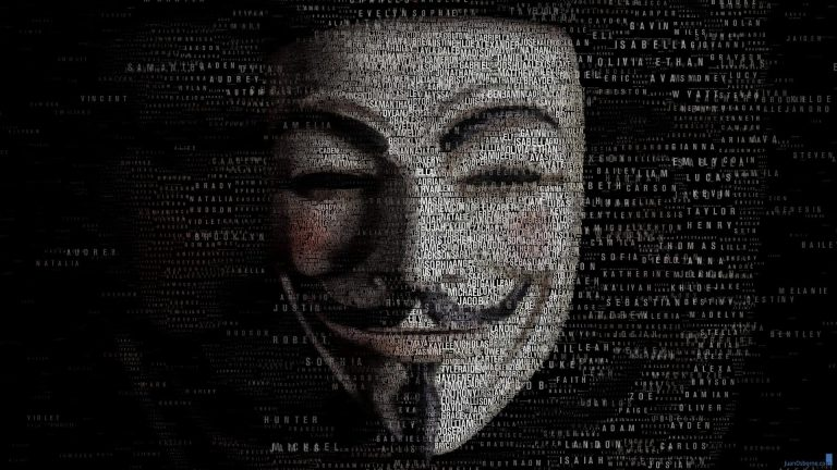 anonymous message about world di