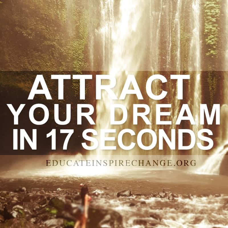 Law Of Attraction In 17 Seconds