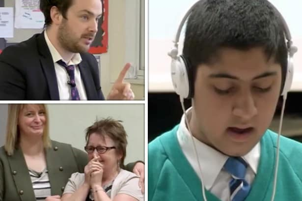 Musharafs inspiring The Kings Speech stammer tale on Educating Yorkshire Channel 4