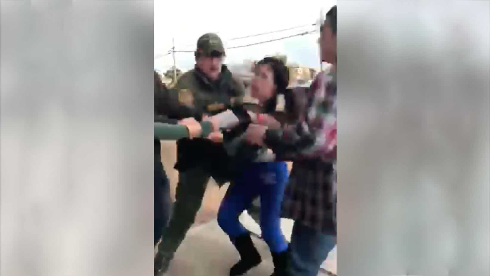 Watch Border Patrol Rips Mother Away From Crying Children