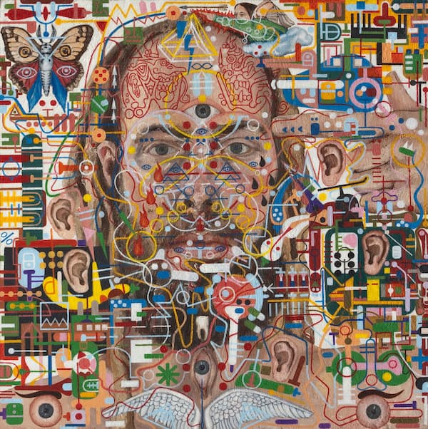 This Artist Got Cancer Of The Pineal Gland  His Paintings