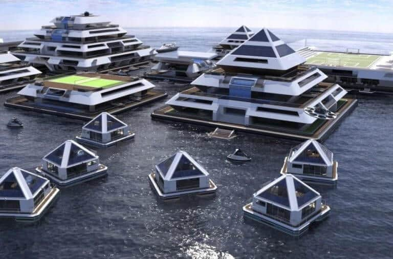 Incredible Pictures Of Self Sufficient Solar Powered Pyramid Shaped Buildings
