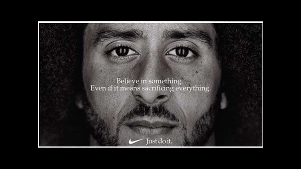 Colin Kaepernick Nike Just Do It Ad Campaign