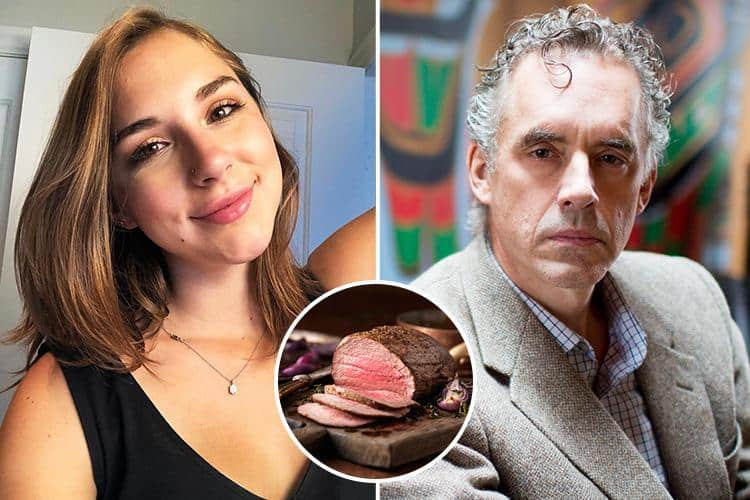 Jordan Peterson and his Daughter Claim Meat Only Diet Has Cured Their Depression