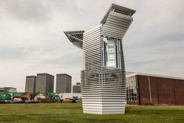 Smog-free tower in China
