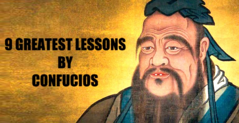 9 Lessons From Confucius That Will Ultimately Change Your Life