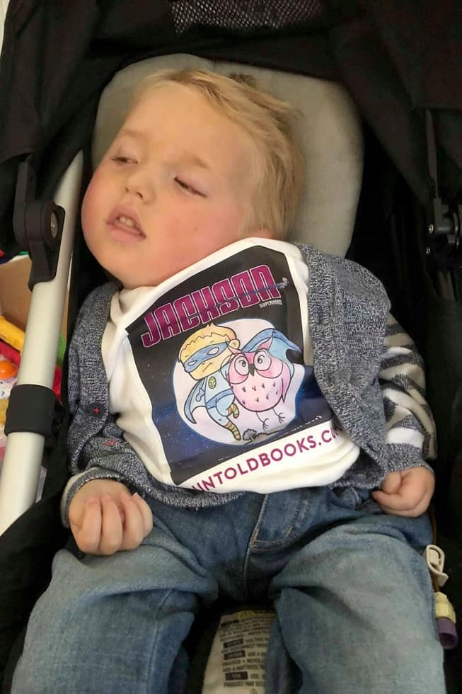 Dad Turns Dying Son Into Superhero In Series Of Heartwarming Books 3