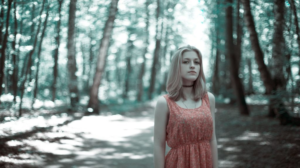girl in the woods 2