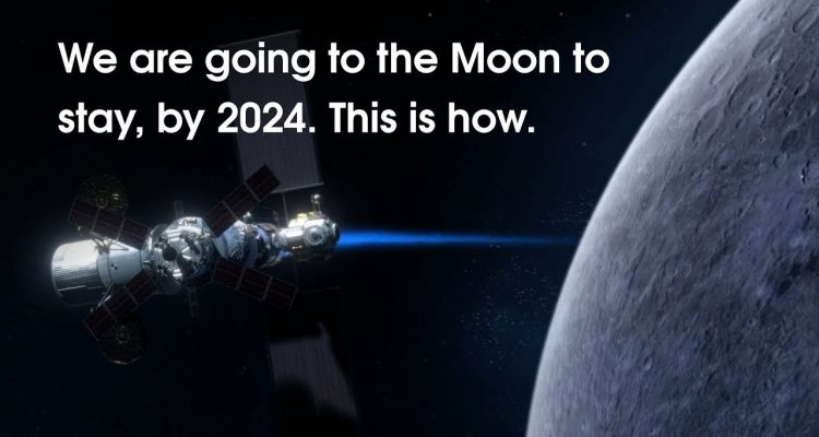 Nasa: We are going to the Moon, to stay, by 2024  And this