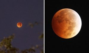 lunar eclipse 2018 blood moon time today UK 995216
