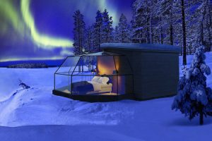 northern lights from bed 001