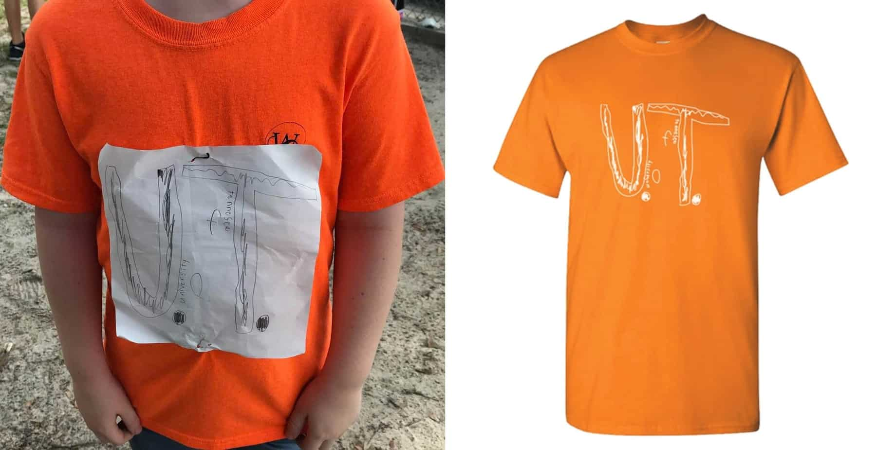 Tennessee kid design shirt